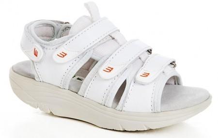 6ad5122827cf WEB balanse sandaler Hvit
